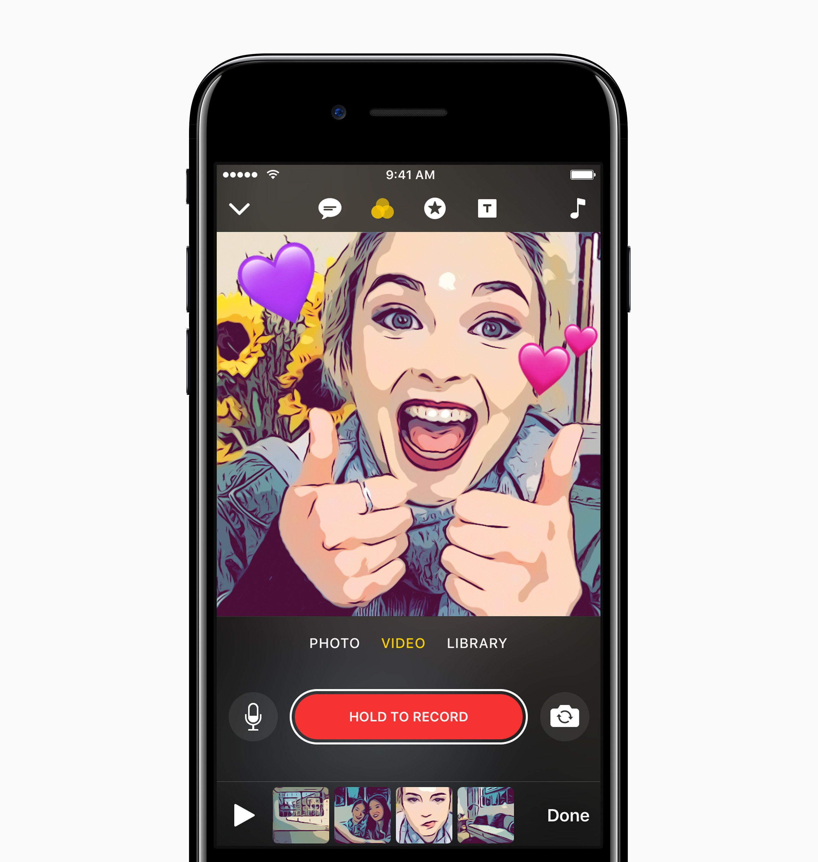 Apple's New App Lets You Make Social Videos On The