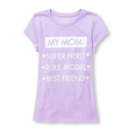 "Buy <a href=""http://www.childrensplace.com/shop/us/p/girls-clothing/girls-clothing/girl-t-shirts/Girls-Short-Sleeve-Glitter--"