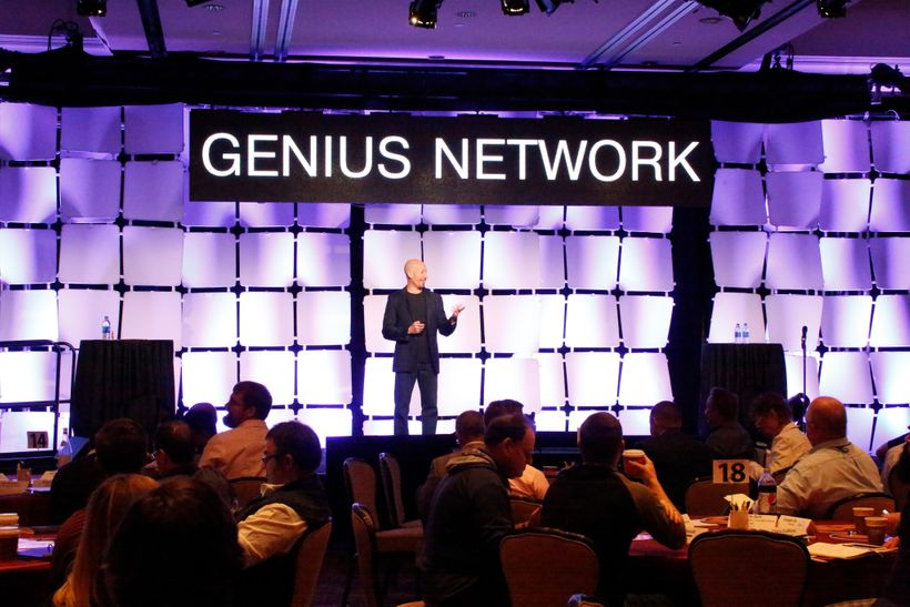 Joe Polish leading a Genius Network $25K group