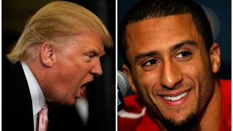 When Donald Trump attacked Colin Kaepernick the quarterback responded by donating to people in need