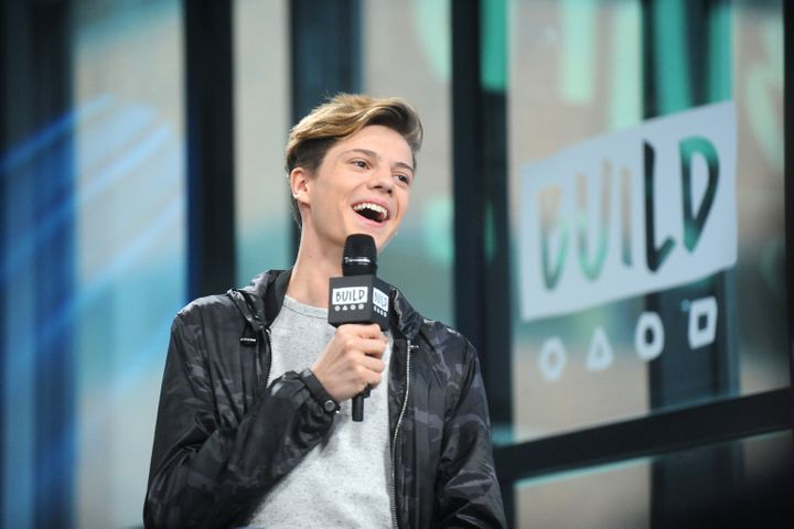 "Jace Norman attends Build Series to discuss ""Henry Danger."""