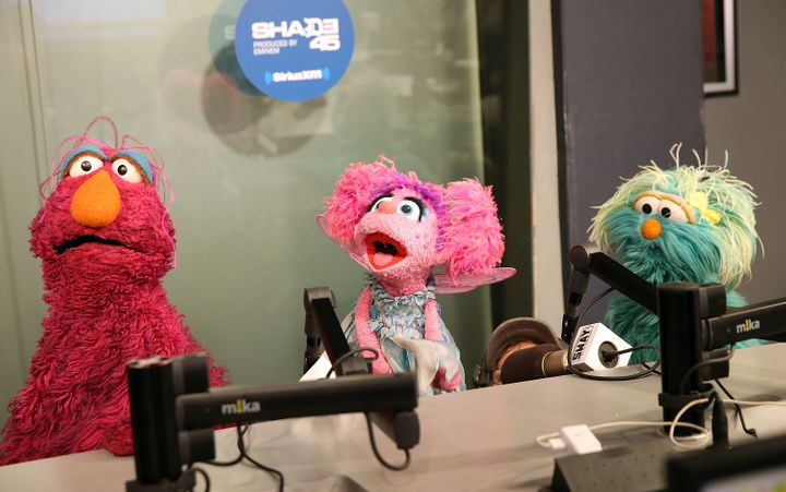 """Sesame Street"" characters Telly Monster, Abby Cadabby and Rosita visit ""Sway in the Morning"" with Sway Calloway at SiriusXM"