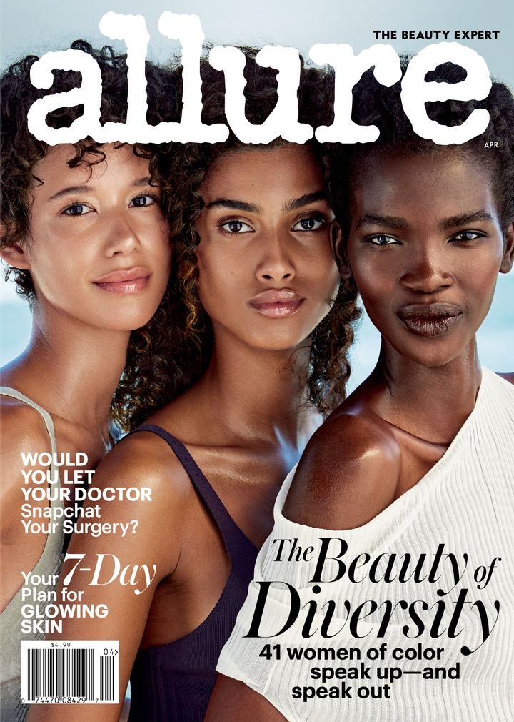 Allure's April issue