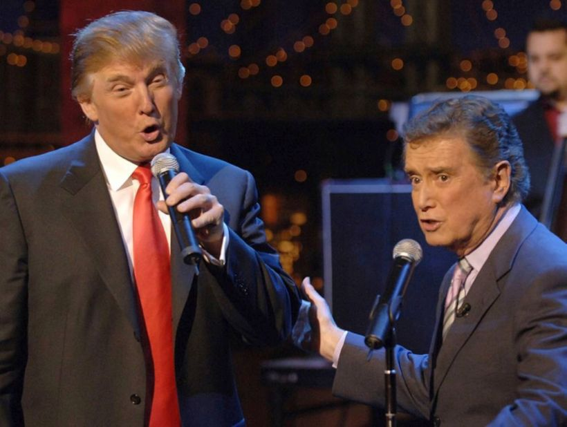 - - - -<strong><em> Trump and Philbin, singing a duet, in happier days. </em></strong>- - - -