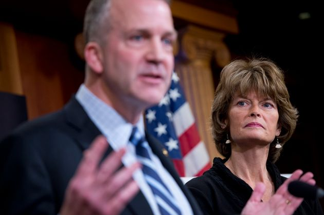 Alaska Sens. Lisa Murkowski and Dan Sullivan, both Republicans, testified in support of repealing an...