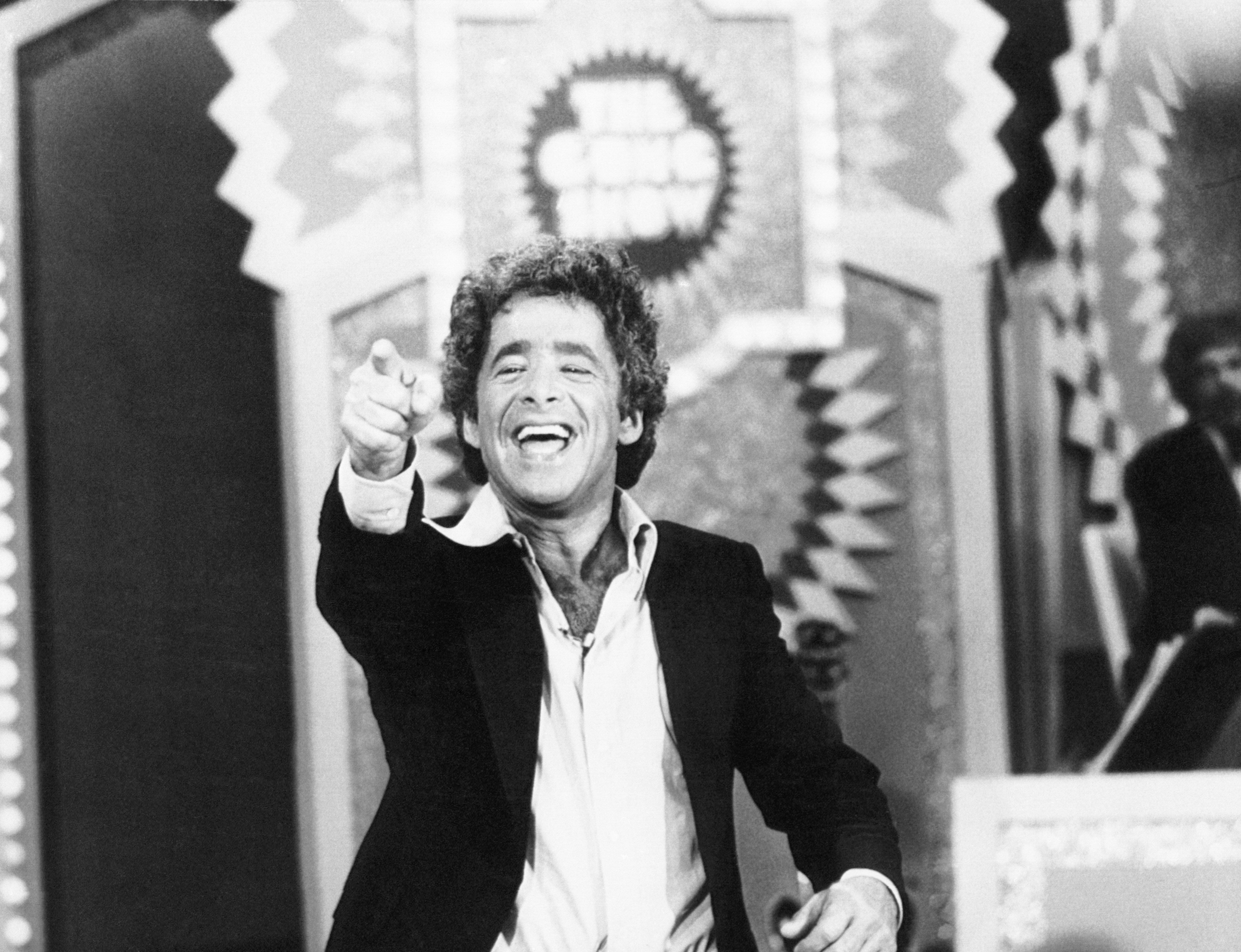 """Chuck Barris was the maniacal host-producer of """"The Gong Show."""" The reverse talent show because a huge hit in the U.S."""