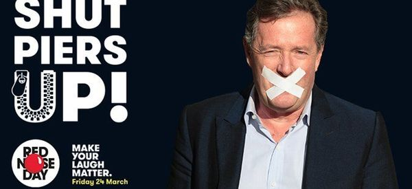 Piers Morgan Is Doing A Sponsored Silence And It Is Just What The World Needs Right Now