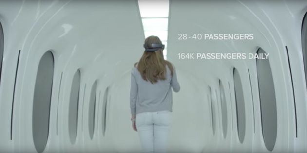 Hyperloop Pod Unveiled: This Is What Travelling On A 700mph Train Could Look