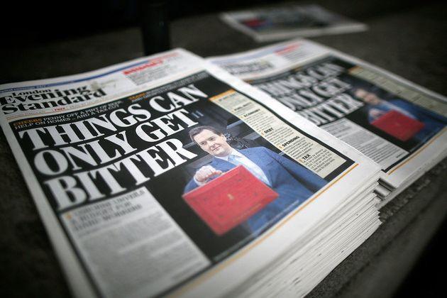 Britain's George Osborne to edit London's Standard newspaper