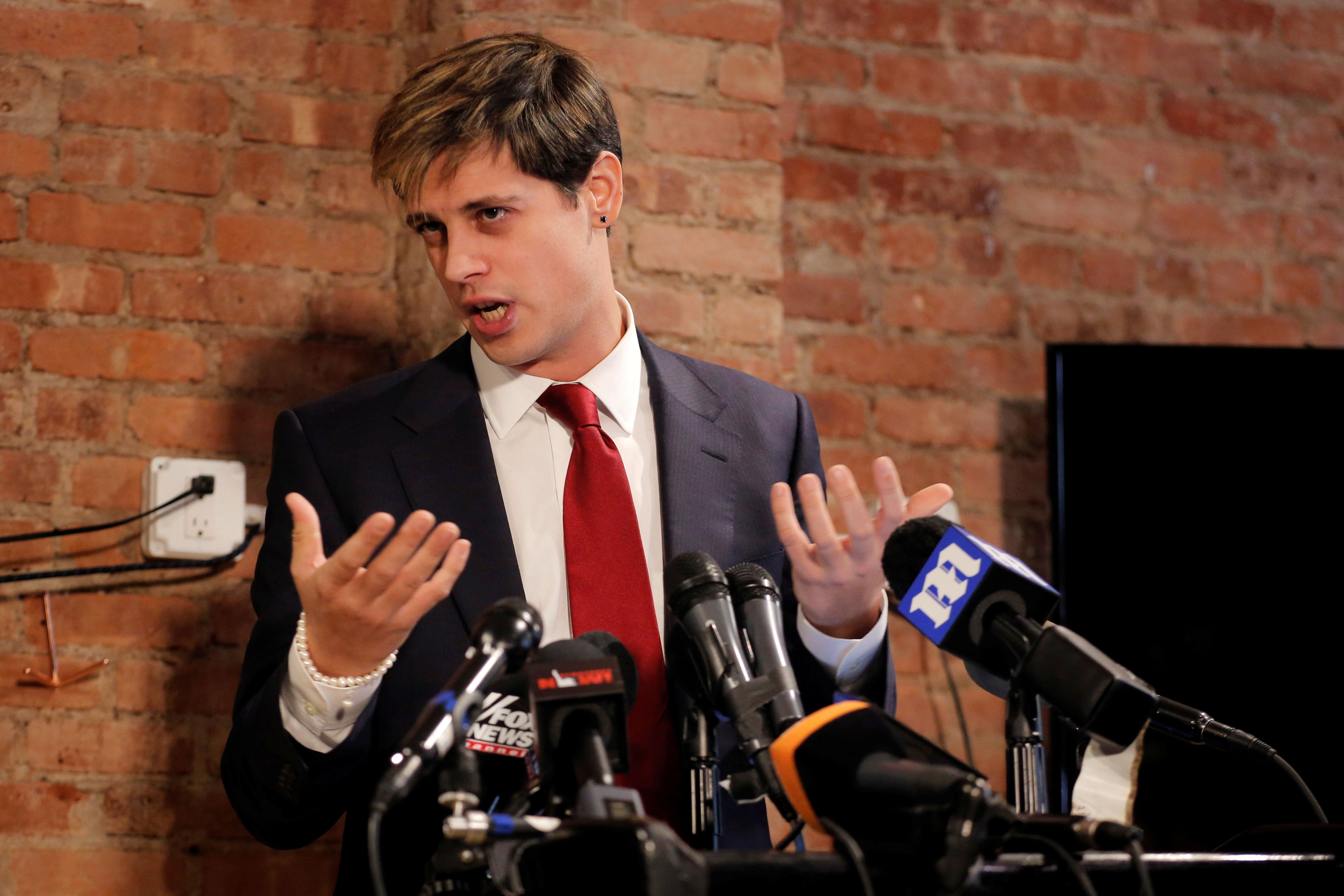 Milo Yiannopoulos Doesn't Appear ToBe Taking His Glasgow University LossTerribly