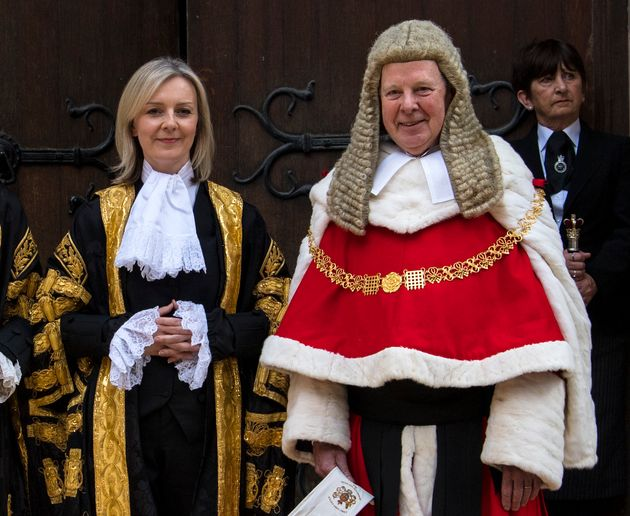 Lord Thomas said Justice Secretary Liz Truss had misunderstood the difference between 'criticism and