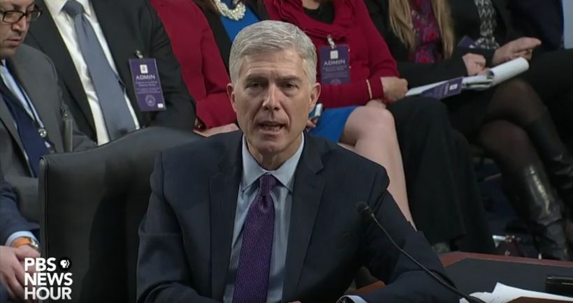 Gorsuch Shows Few Cracks Heading Into Day 3 of SCOTUS Confirmation