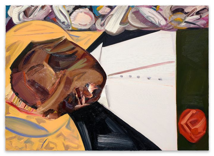 The painting at the center of the Whitney Biennial controversy exploits black trauma.