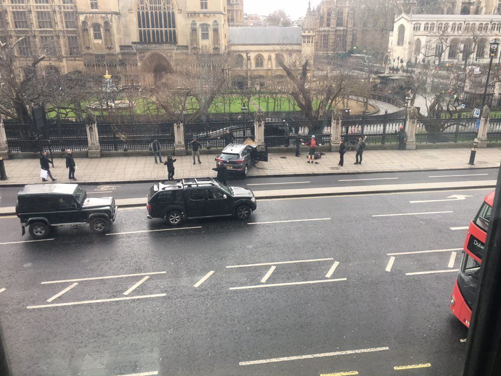 Reports Of Shots Fired Outside UK
