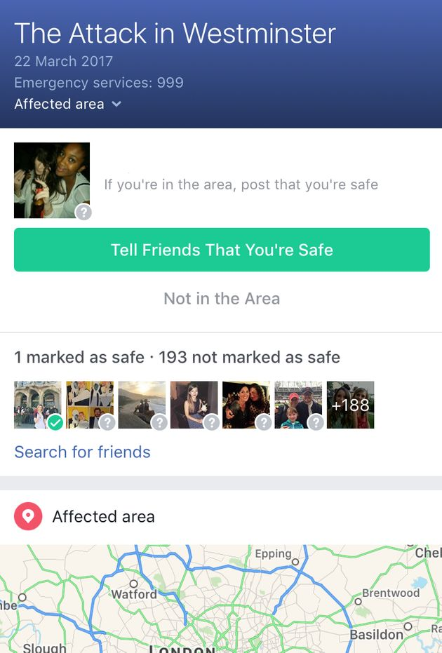 Facebook Activates Safety Check Feature Following Westminster 'Terror