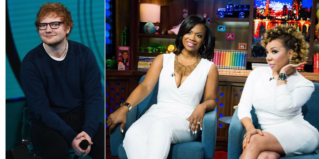 "Ed Sheeran has given ""No Scrubs"" writers Kandi Burruss and Tiny writing credits for his hit song ""Shape of You."""