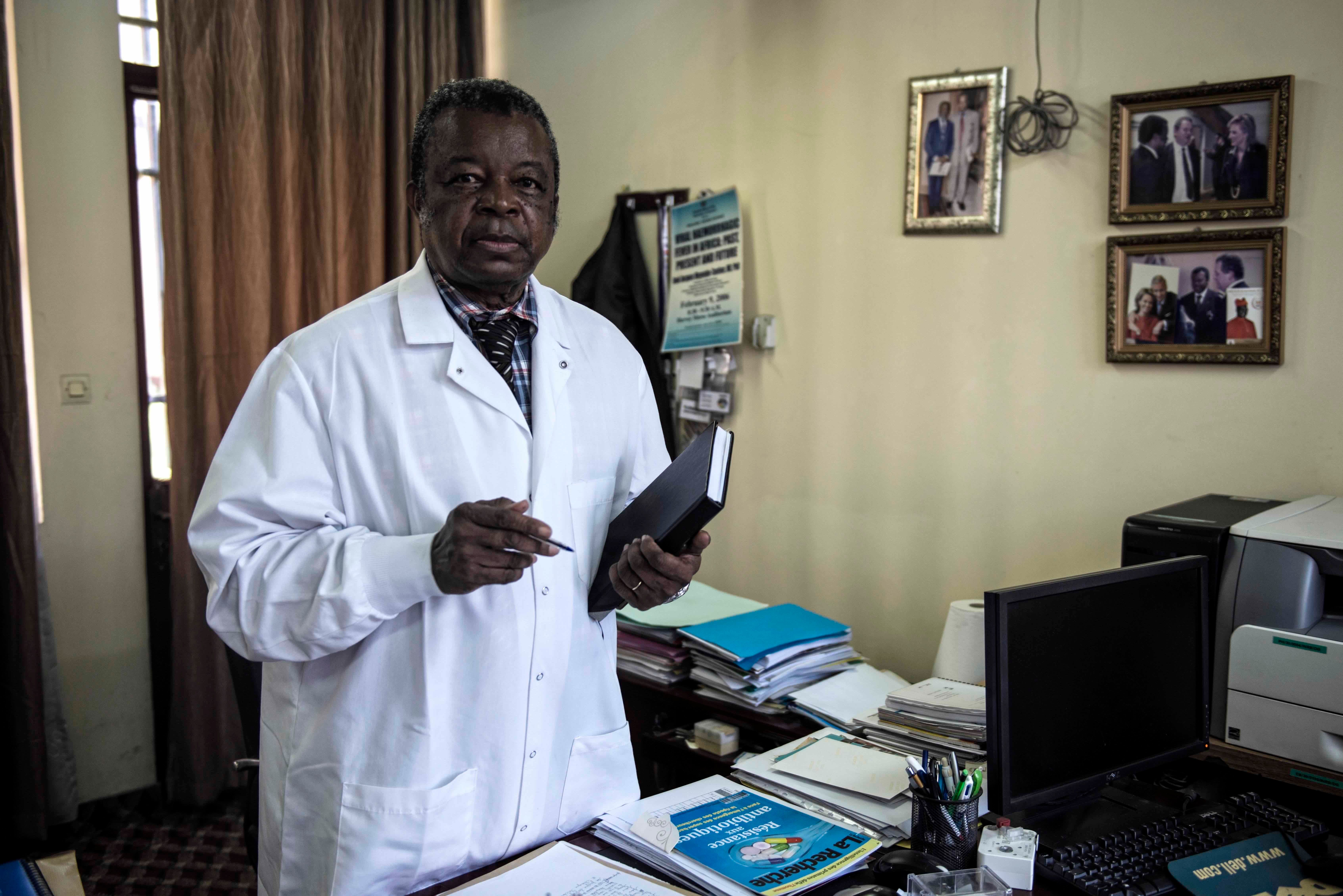 Dr. Jean-Jacques Muyembe-Tamfum treated the first cases of Ebola before the disease even had a name.