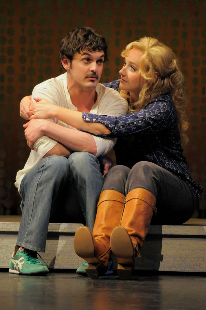 "Wesley Taylor (left) and Betsy Wolfe starred in ""Tales of the City"" at San Francisco's American Conservatory Theater in 2011."