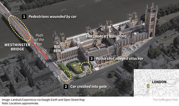 ロンドン国会議事堂テロ、容疑者は単独犯か過激派か ISは「戦闘員」と呼んだが...