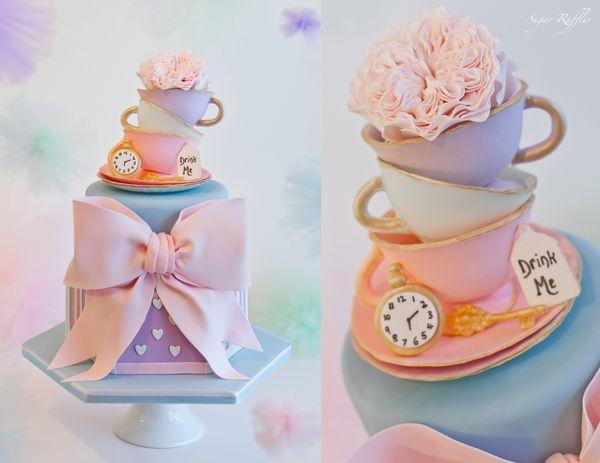 "<i>Cake by <a href=""http://www.sugarruffles.co.uk/"" target=""_blank"">Sugar Ruffles</a></i>"