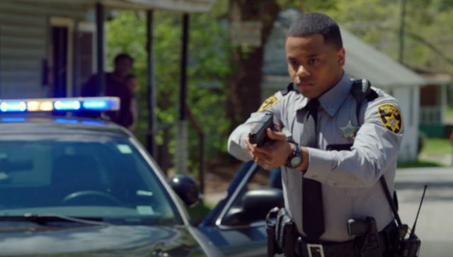 The series examines the aftermath of two racially charged shootings in a small North Carolina town.
