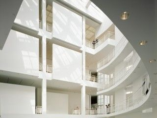 The Light-filled Atrium at the High Museum