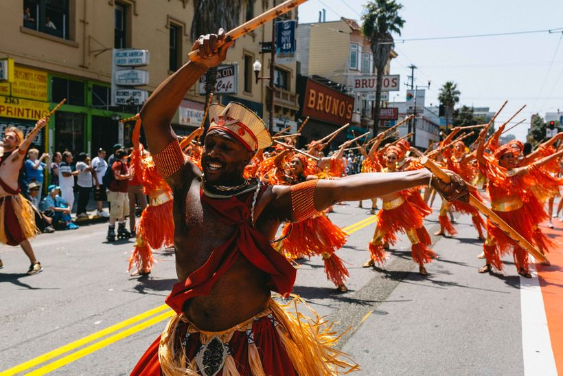 A festival representing Brazil, Mexico, the Caribbean and all of Latin America