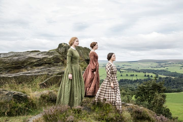 Anne, Emily and Charlotte Bronte.