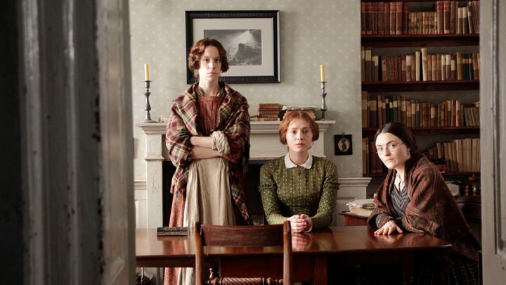 Emily, Anne and Charlotte.