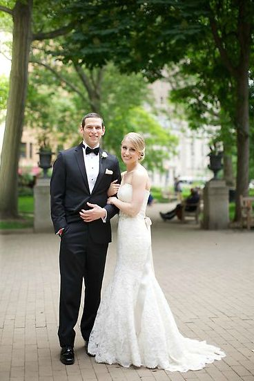 David Fajgenbaum married his wife, Caitlin, in 2014.