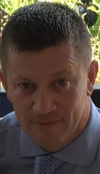 Officer Keith Palmer, 48, was fatally stabbed in a terrorist attack Wednesday.