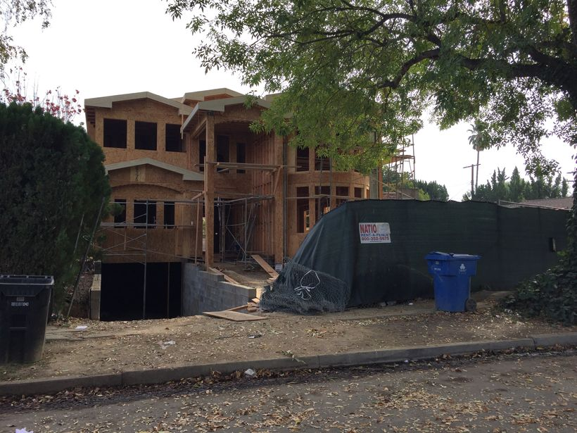 """LA is loaded with over-sized """"McMansions,"""" but this one in Sherman Oaks sinks to a new low."""