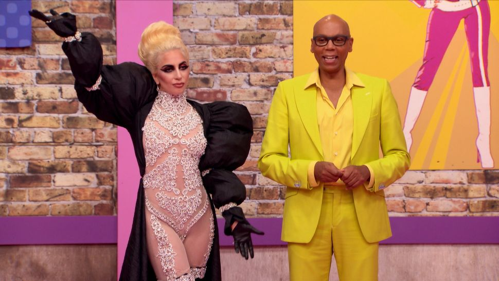 "Lady Gaga guest stars on the season premiere of ""RuPaul's Drag Race."""
