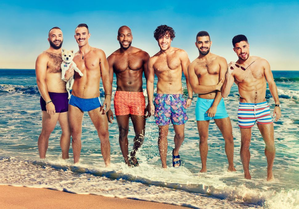"The cast of Logo's ""Fire Island."""