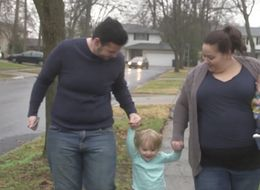 Husband Carries Baby For Wife After She Couldn't Fall Pregnant