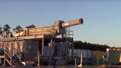 Watch The US Navy Test An Experimental Railgun That Can Fire Projectiles At Mach