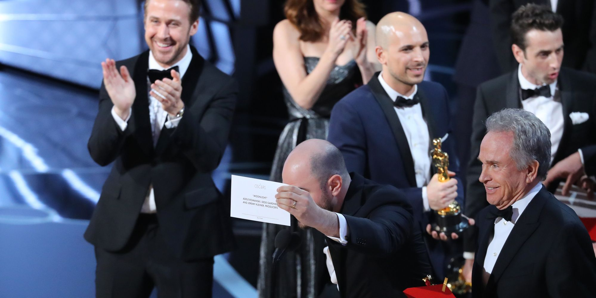 Ryan Gosling Reveals Why He Was Laughing So Much During *That* Oscars Blunder