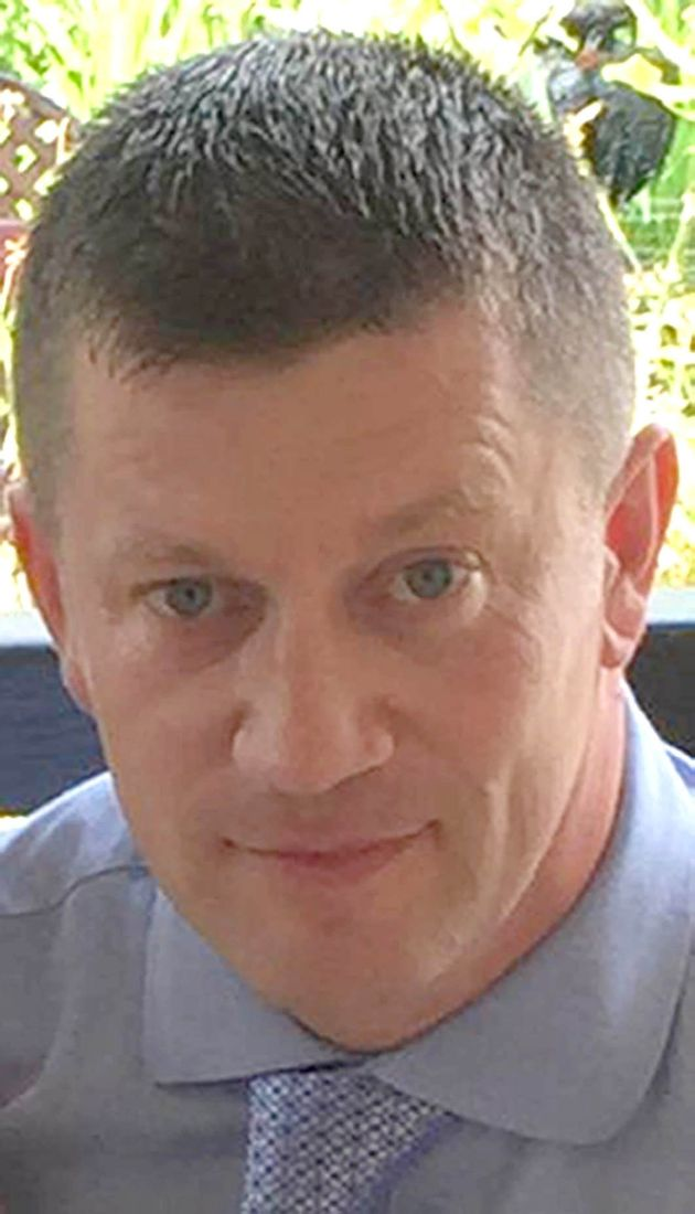 PC Keith Palmer, who died aged