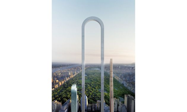 U-shaped skyscraper proposed for Manhattan to be 'World's Longest Building'