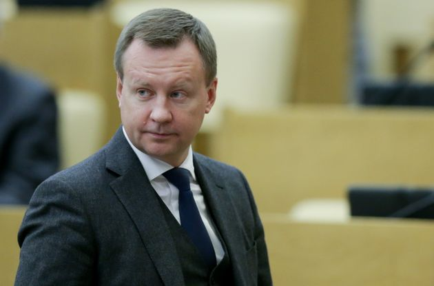 Denis Voronenkov at a plenary session of the Russian State Duma, the Lower House of the Russian