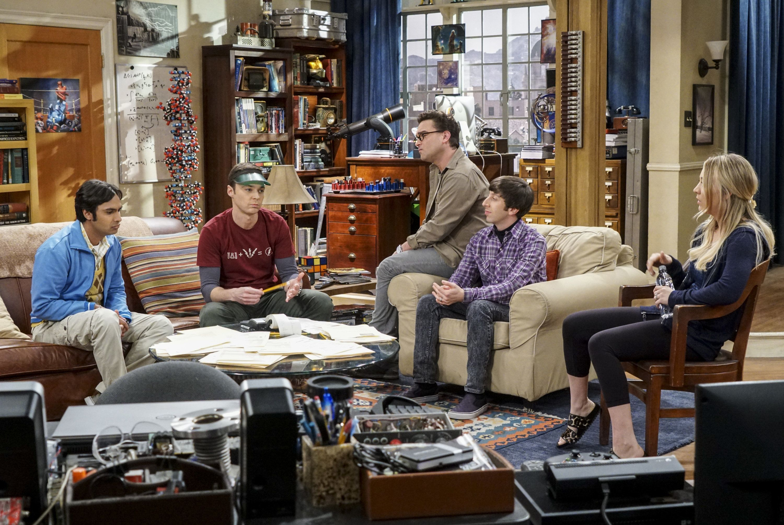 The 'Big Bang Theory' Casts' Total Earnings Are Unbelievably