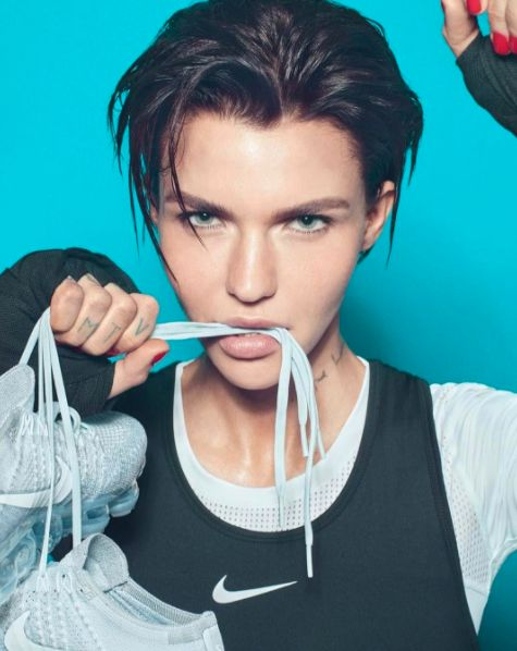 Ruby Rose Stars In Nike's Latest Campaign And Looks