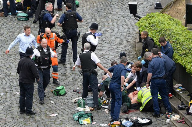 Tory MP Tobias Ellwood among those who tried to save the life of PC Palmer