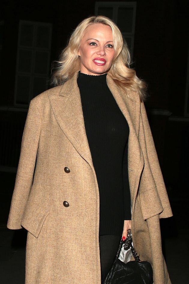 Pamela Anderson stormed off 'Celebrity