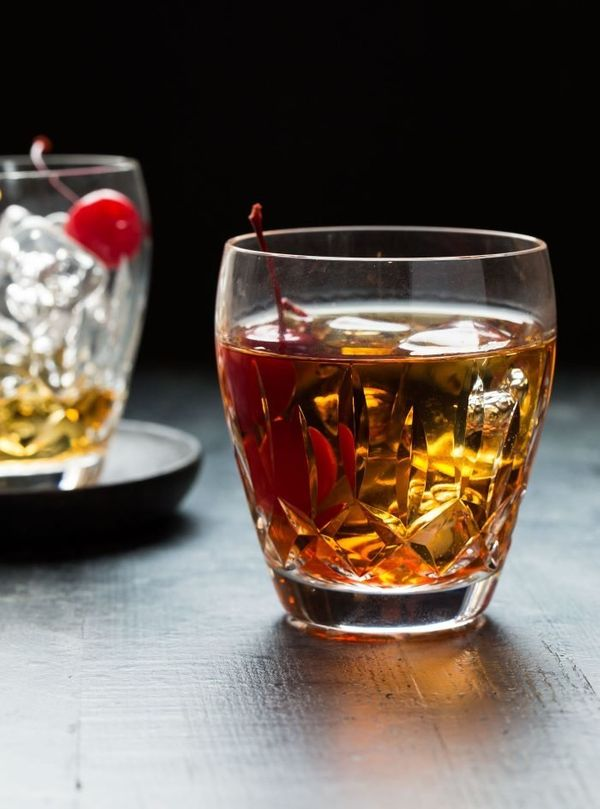 """<strong>Get the <a href=""""https://www.garnishwithlemon.com/perfect-manhattan-cocktail/"""" target=""""_blank"""">Classic Manhattan Cock"""