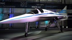 Supersonic Flights From London To New York Are Now One Step Closer To