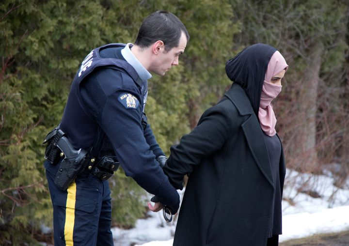 A Yemeni woman is detained while crossing into Canada at the U.S. border. Yemen was also affected by U.S. President