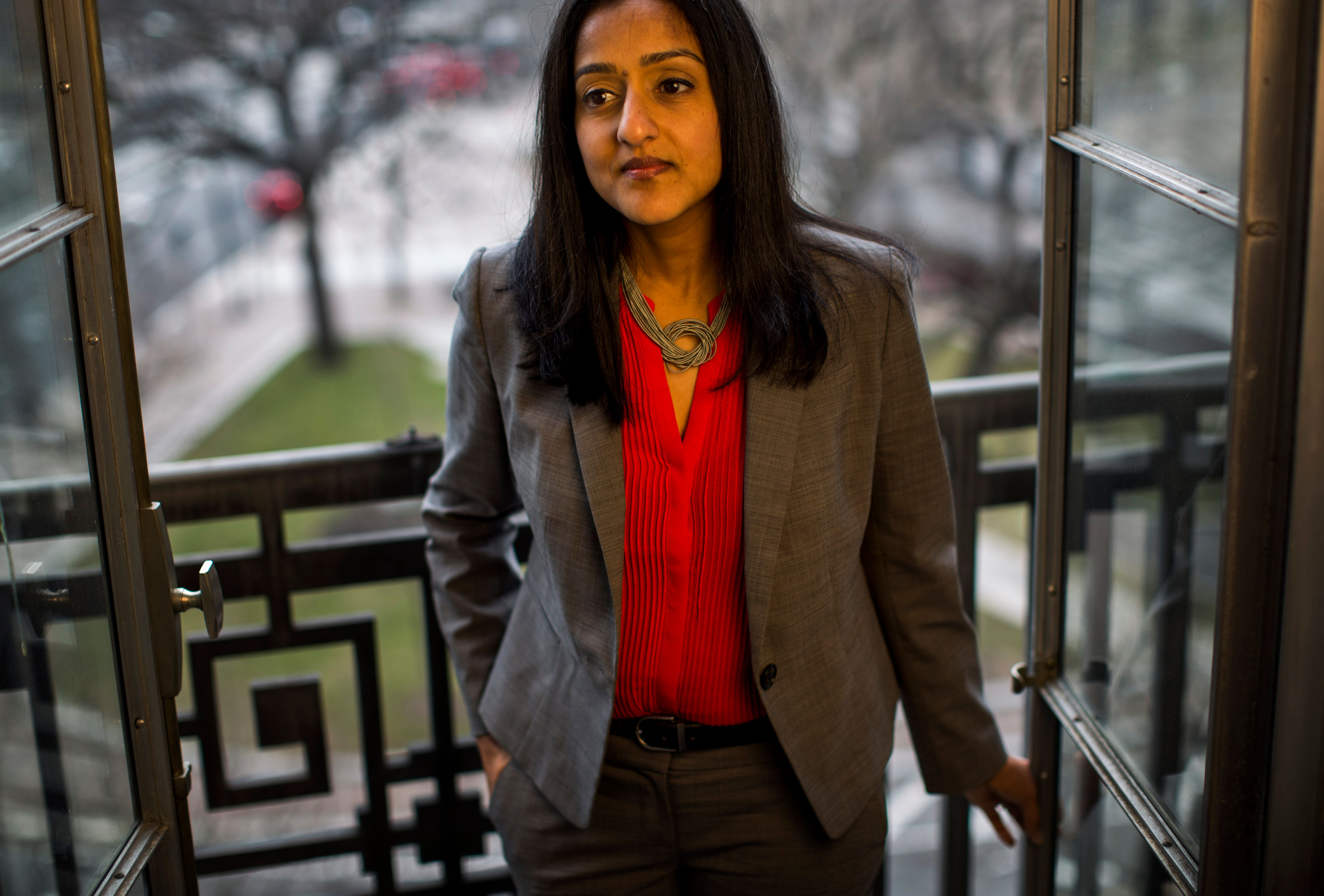 Vanita Gupta became head of the Civil Rights Division soon after the protests in Ferguson, Missouri.