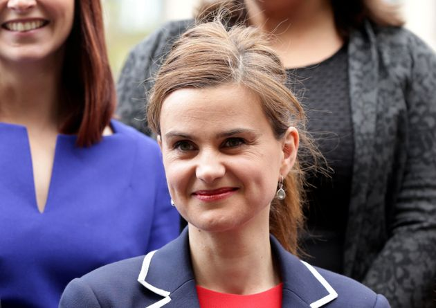 The late MP Jo Cox, who was killed by extremist Thomas