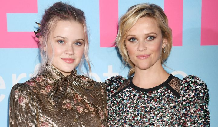 "Witherspoon's daughter, Ava, joined her on the red carpet for the premiere of ""Big Little Lies."""